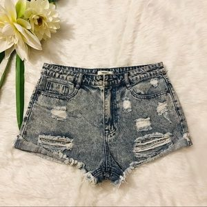 Forever 21 High-Rise Shorts Size 27